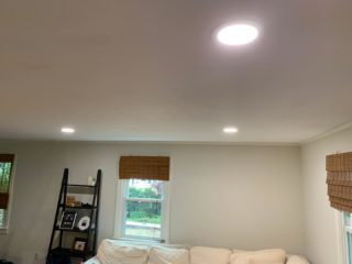 Just a few of the recessed lights we installed today. Want to upgrade your lighting? Give us a call! 401-443-6715. #rcelectric02871